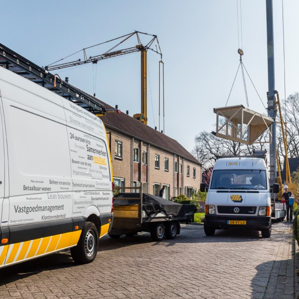 Planmatig onderhoud 30 woningen Delden