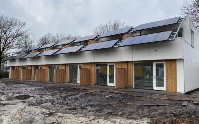 Huurders trekken in eerste circulaire woningen in Twente